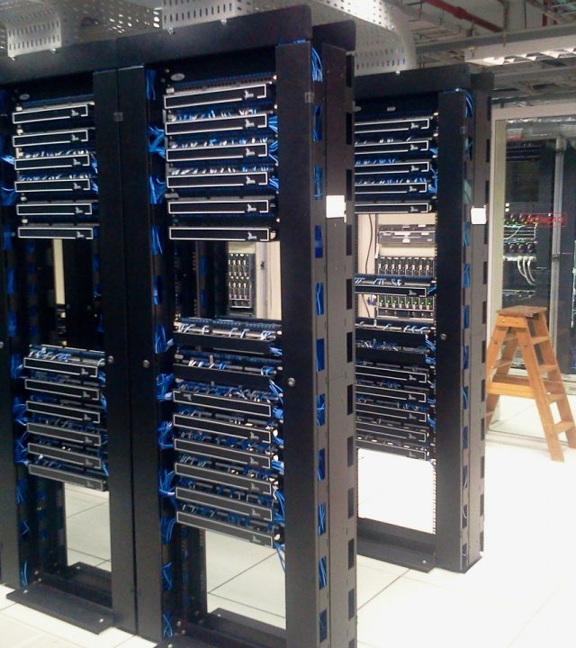 datacenter, servers, computers